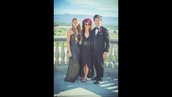 dress,lia marie johnson,black sequin dress,prom dress