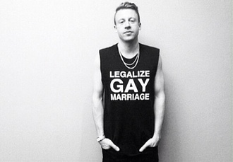 tank top legalize gay marriage macklemore black white