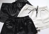 shorts,leather shorts,swimwear