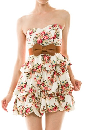 floral dress skater dress dress casual dress