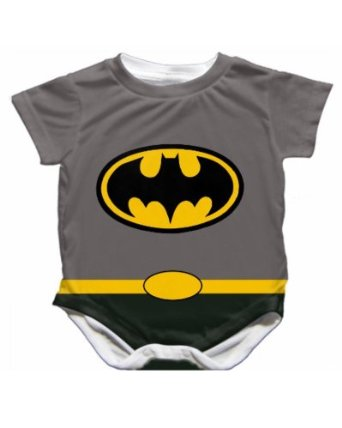 Amazon.com: Handmade Batman Onesie - Cape Designed on Back! - Size 3-6 Months: Clothing