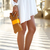 White Chiffon Shift Dress With Slip Sleeves - Choies.com