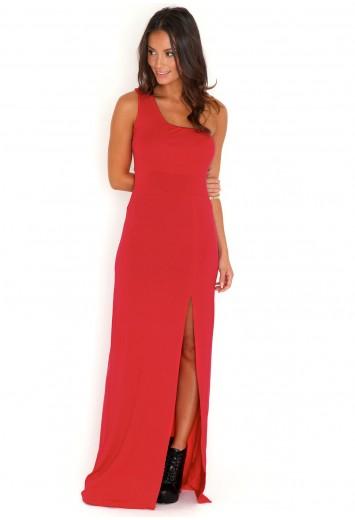 Carniela One Shoulder Maxi Dress-dresses-missguided
