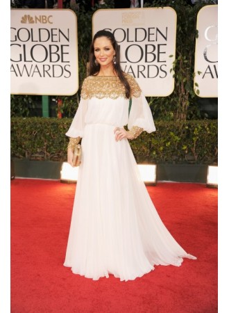 Line evening dresses long sleeves red carpet celebrity dresses bo3363  on sale at weddingdressyes.com
