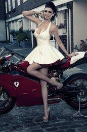 dress,latex,skater dress