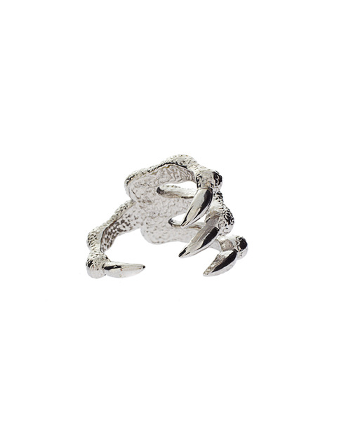 Wrapped claw ring (2 colors!)