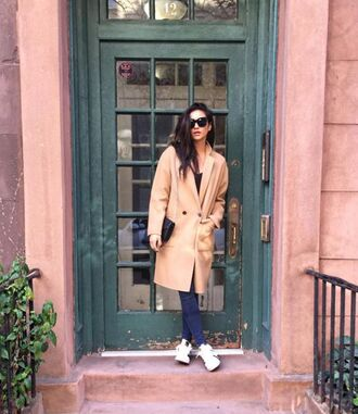 coat camel camel coat shay mitchell instagram fall coat fall outfits shoes