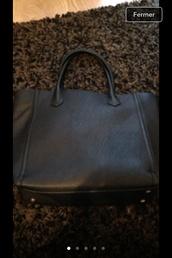 bag,school bag,h&m,black,beautiful