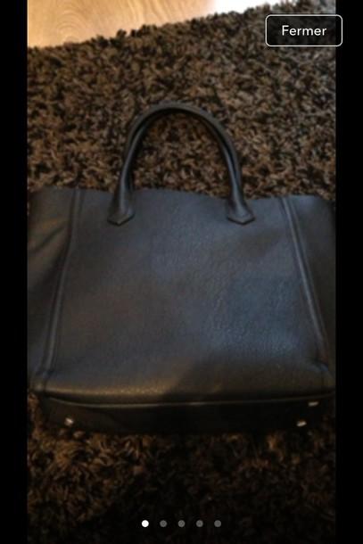 bag school bag h&m black beautiful