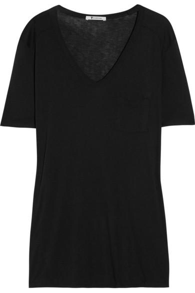T by Alexander Wang|Classic jersey T-shirt|NET-A-PORTER.COM