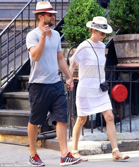 diane kruger white dress shoes sandals boyfriend