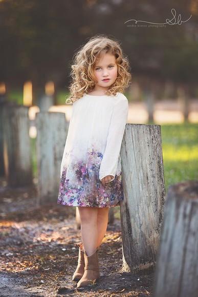 dress floral dress girls dresses