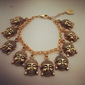jewels,buddha,vidakush,charm bracelet