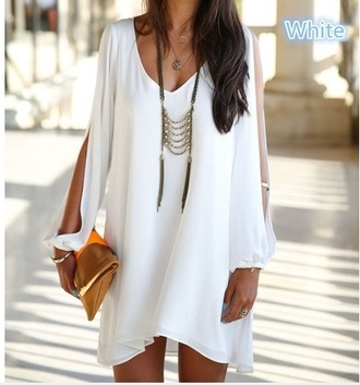 dress flowy jewels blouse