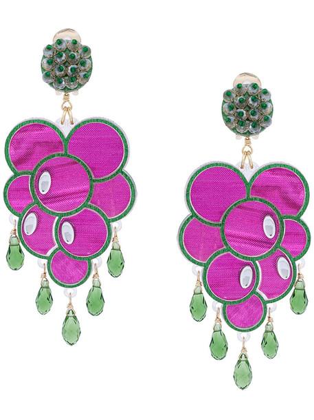 women purple pink bronze jewels