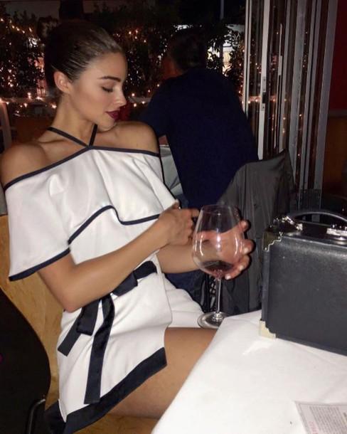 blouse top skirt mini skirt olivia culpo instagram summer dress summer outfits