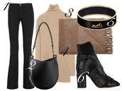 by funda,blogger,jeans,bag,scarf,jewels,hermes,camel,black boots