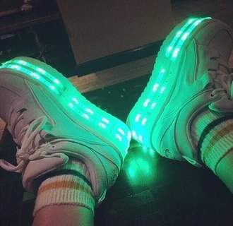shoes creepers platform shoes flatforms light up trainers grunge soft grunge grunge shoes cute kawaii wow