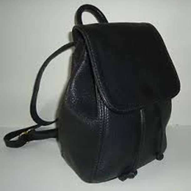 bag backpack leather leather backpack