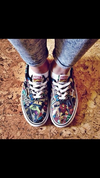 shoes heroes pressure flats marvel comic tie shoes