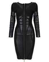 zip,new year's eve,day,night,party,evenig,eving,wow,date outfit,long sleeves,gift ideas,leather,leather dress,evening dress,long sleeve dress