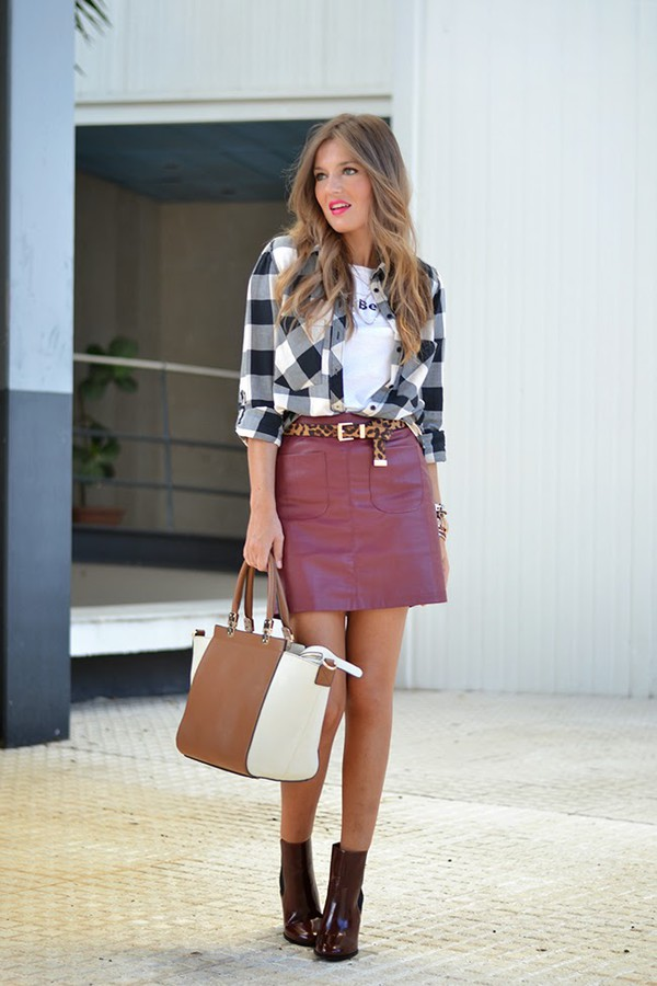 mi aventura con la moda blogger skirt shoes belt bag t-shirt jewels