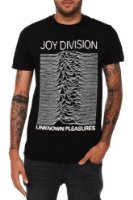 Impact Men's Joy Division Unknown Pleasures T-Shirt at Amazon Men's Clothing store: Music Fan T Shirts