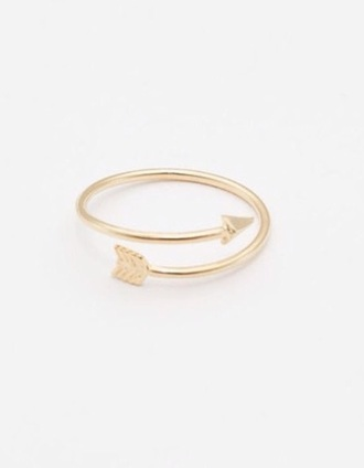 jewels ring arrow jewelry gold ring