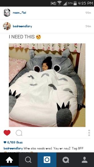 home accessory sleeping bag pillow bedding owl