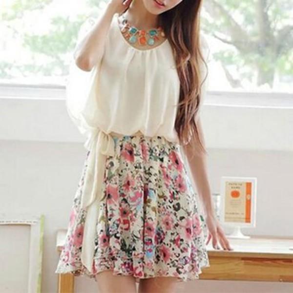 princess chiffon dress