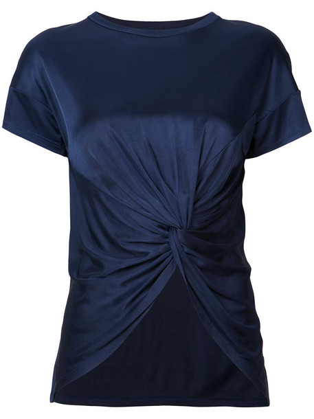 ZAC Zac Posen women blue top