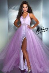 dress,mac duggal,61194,prom dress lilac,prom dress,lilac,cute