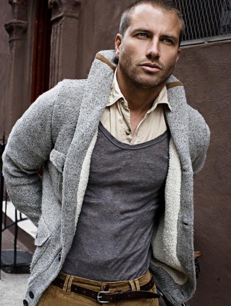 menswear sweater jacket clothes mens cardigan grey cardigan