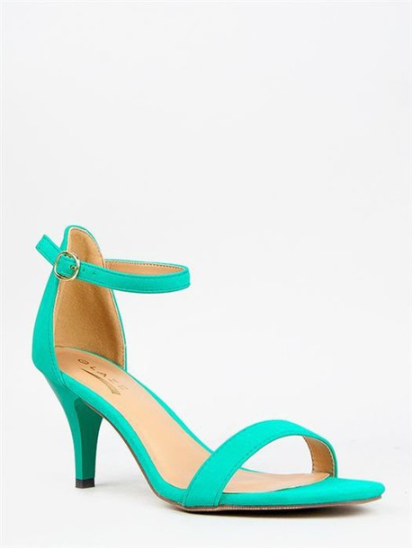 Low Heels With Ankle Strap | Tsaa Heel