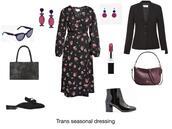 chicatanyage,blogger,sunglasses,jewels,dress,jacket,bag,shoes,make-up