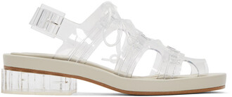 clear sandals shoes