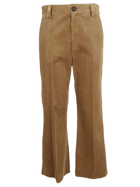 Marc Jacobs cropped brown pants