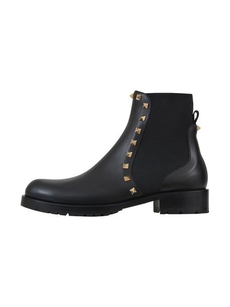 Valentino Garavani boots black shoes