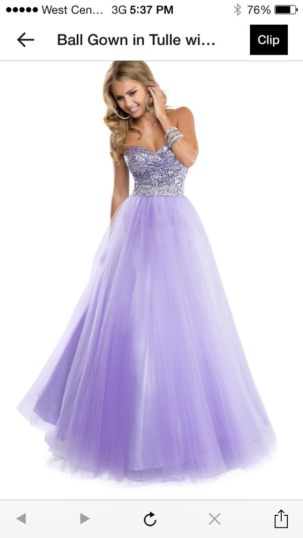 dress lilac ball gown dress prom dress maggie sottero