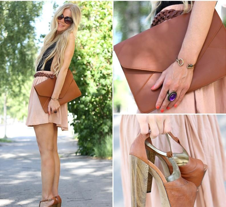 New high waist pleated double layer chiffon short shirred skirts mini pompon