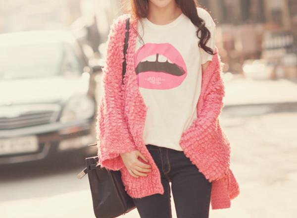 t-shirt sweater skirt shirt cardigan top