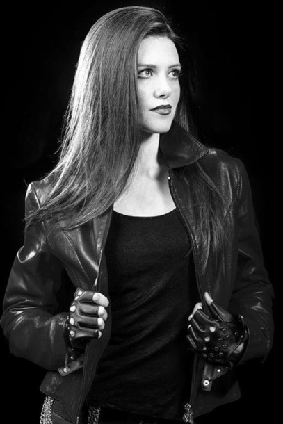 Jacket Model Girl Blogger Blogger Blogger Style Style Look Fashion Rock Rock Style
