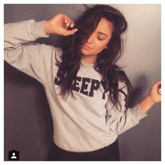 sweatshirt shay mitchell celebrity style