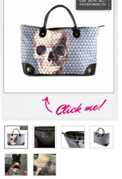 studs bag skull pyramids loungefly