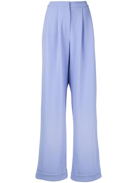 Bianca Spender women purple pink pants