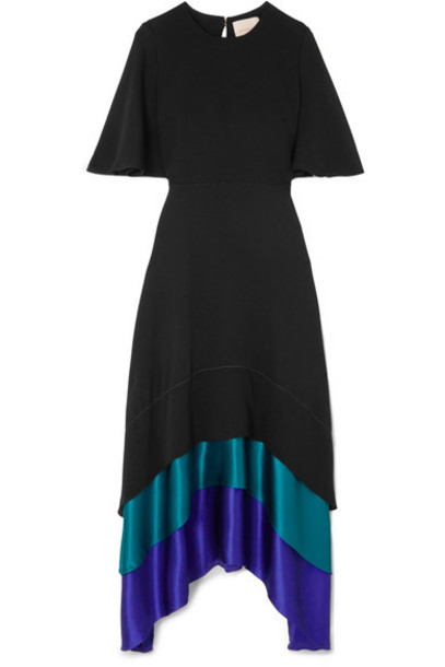 Roksanda dress maxi dress maxi black silk