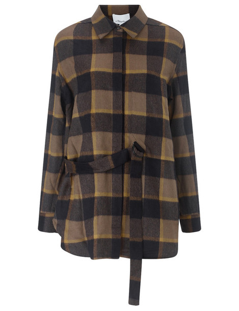 3.1 Phillip Lim shirt classic wool brown