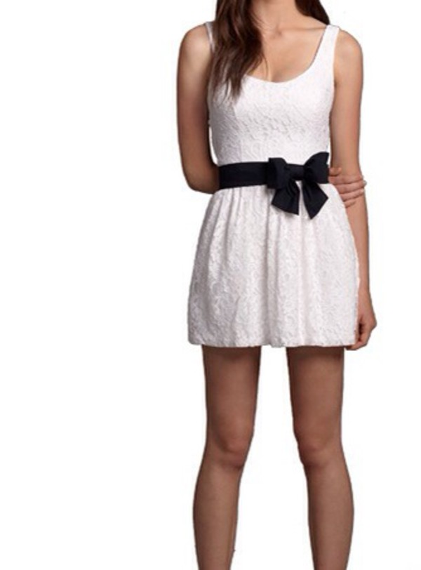dress hollister white dress lovely