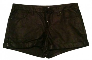 Forever 21 Leather Mini/short Shorts 23% Off | Tradesy