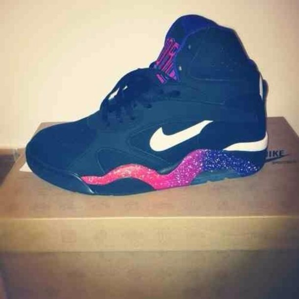 shoes nike trainers sneakers high air max tick nike sneakers black glitter shoes fashion fashionista